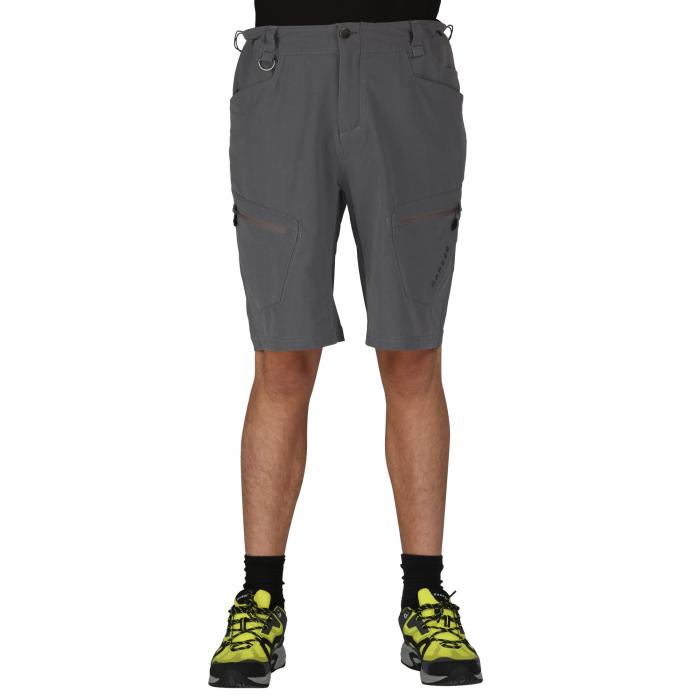 Tuned In Shorts Aluminum Gry