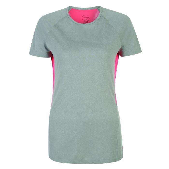Three Strikes T-Shirt Ash Grey Marl
