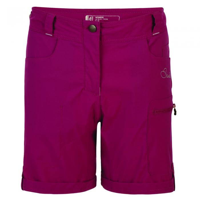 Melodic Short Camellia Purple