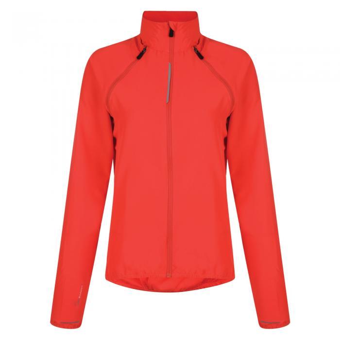 Womens Unveil Windshell Jacket Neon Pink