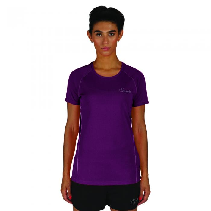 Three Strikes T-Shirt Purple Marl