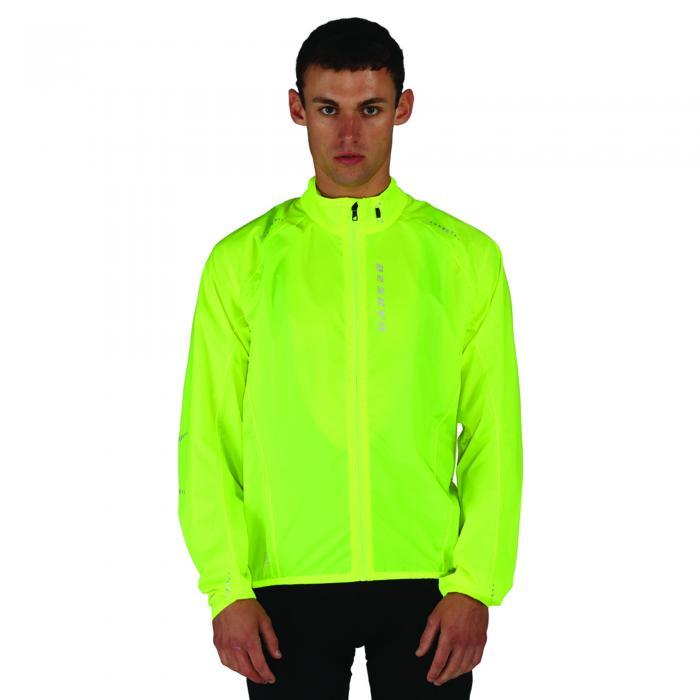 Ensphere II Packaway Jacket Fluro Yellow