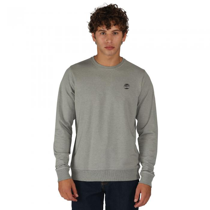 Incidental Sweatshirt Ash Grey Marl