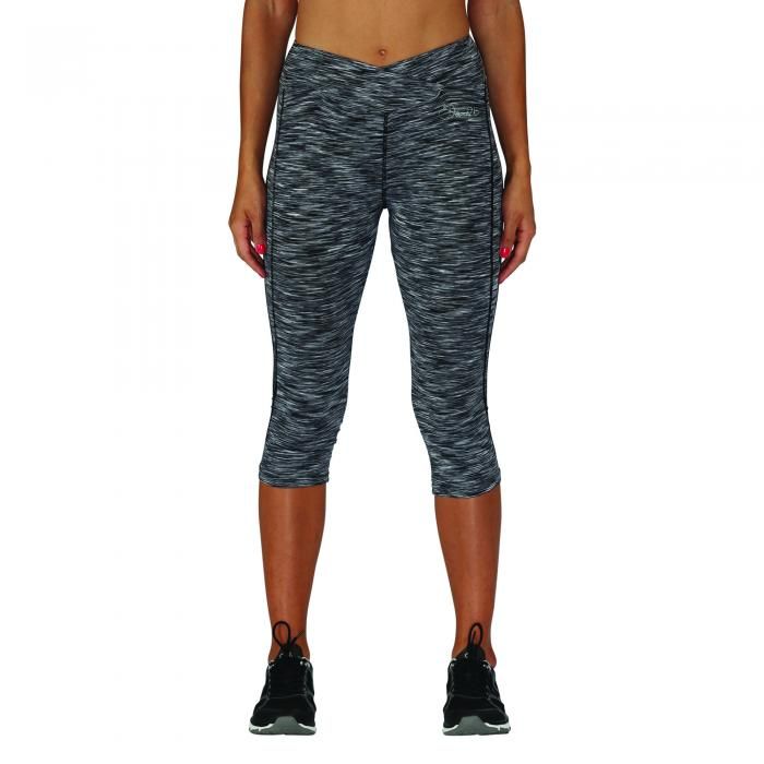 Articulate 3 4 Tights Grey Space Dye