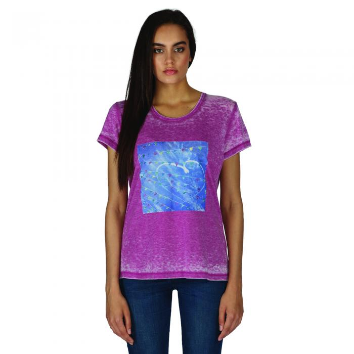 Poised T-Shirt Camellia Purple