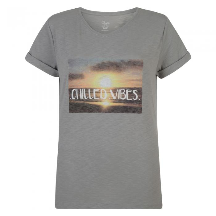 Chilled T-Shirt Ash Grey Marl