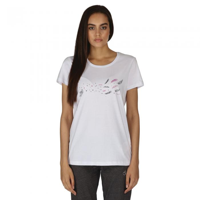 Feathery T-Shirt White