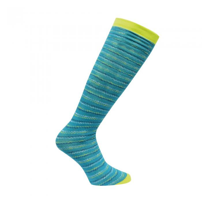 Footloose II Ski Sock Enamel Blue