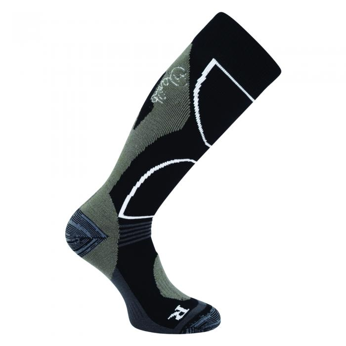 Womens Cocoon Tech Ski Sock Black