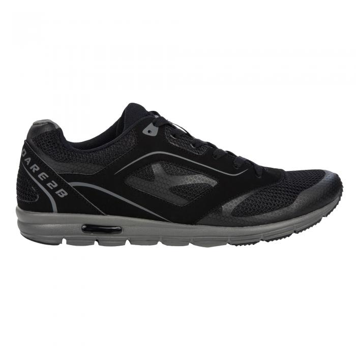 Powerset Shoe Black Aluminium