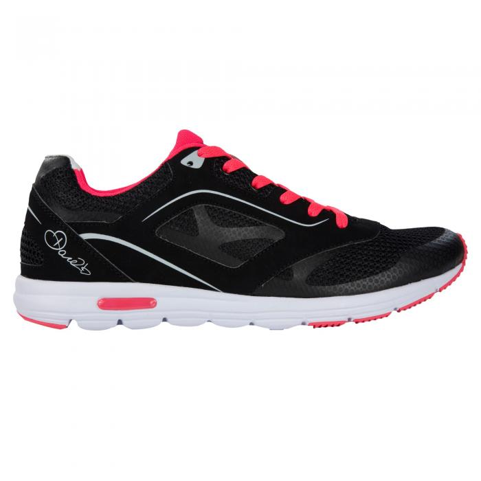Lady Powerset Shoe Black Neon Pink