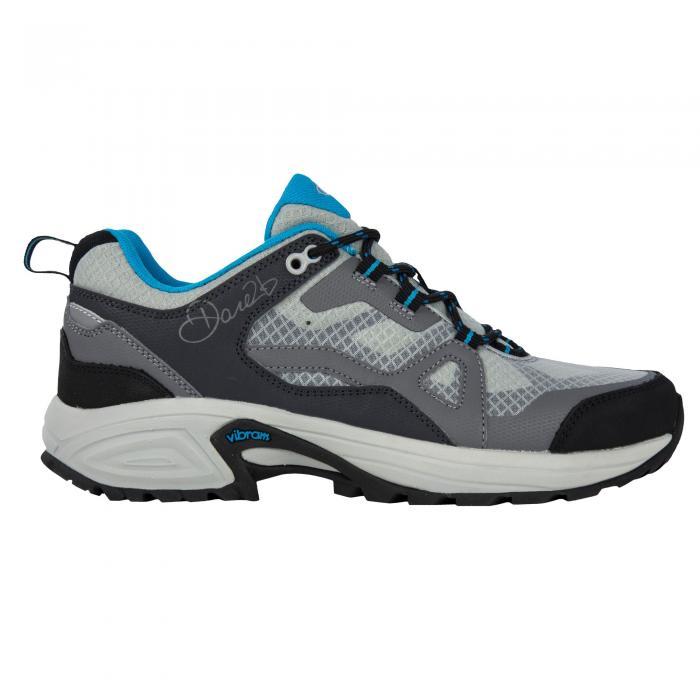 Lady Cohesion Low Shoe Grey Fluro Blue