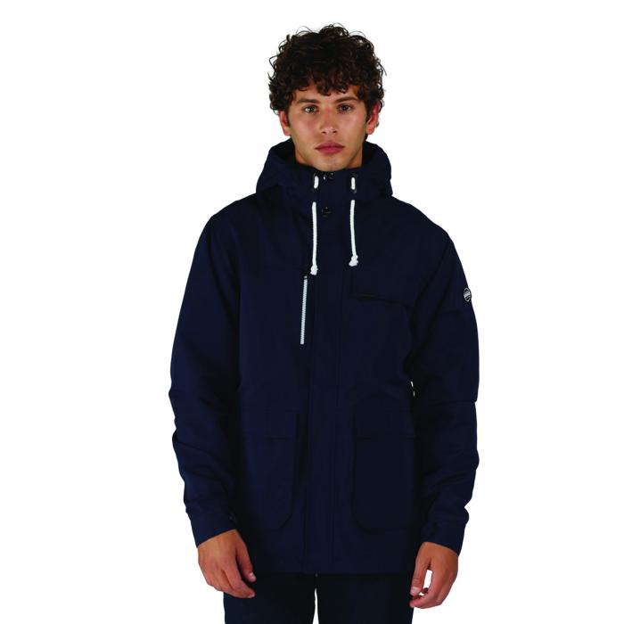 Dissemble Jacket Peacoat Blue