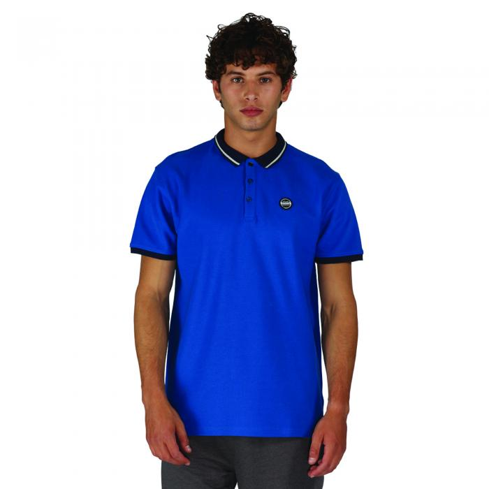 Inundate Polo Oxford Blue