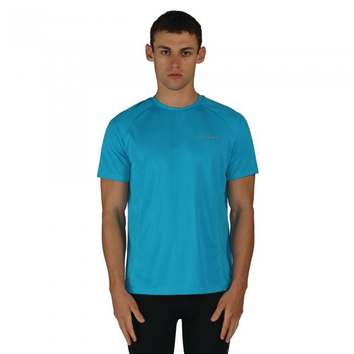 Undermine T-Shirt Fluro Blue