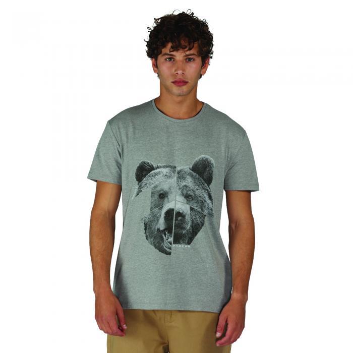 Too Wild T-Shirt Ash Grey Marl