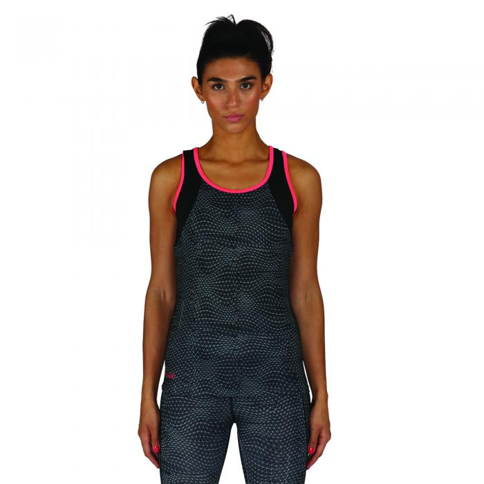 Disruptive Vest Eb And Flow Print