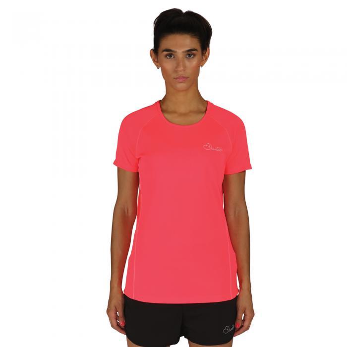 Three Strikes T-Shirt Neon Pink