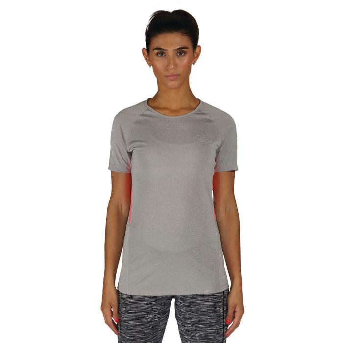 Three Strikes T-Shirt Ash Grey Marl