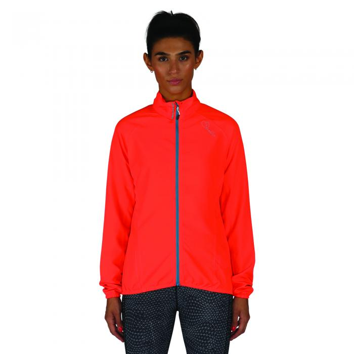 Blighted Windshell Jacket Fiery Coral