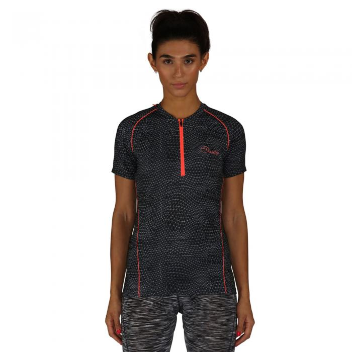 Incisive Jersey Ebb And Flow Print