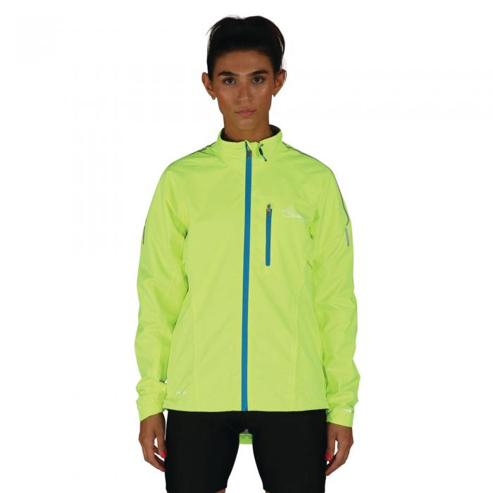 Womens Mediator Jacket Fluro Yellow