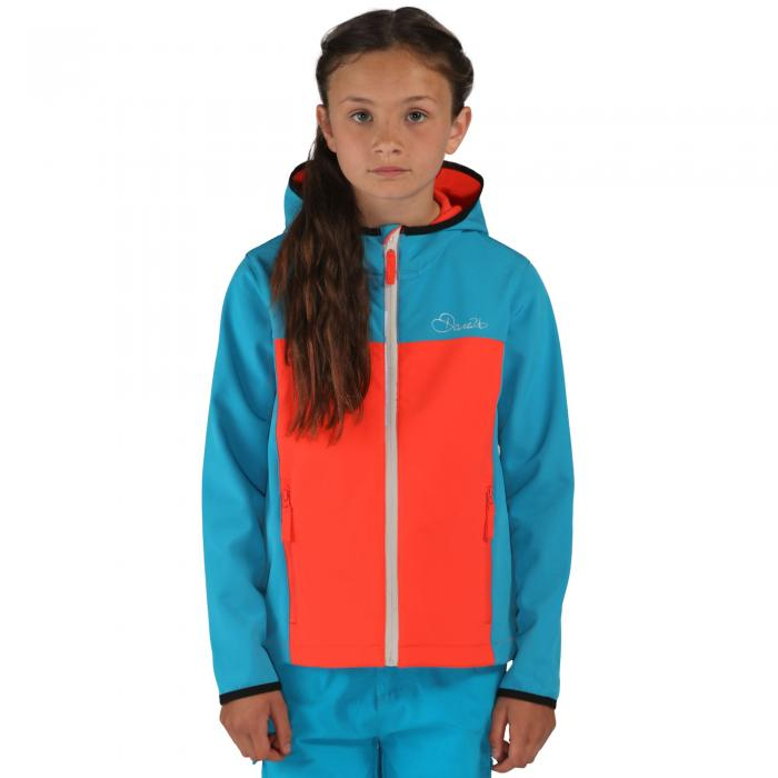 Advocate II Softshell Jacket Blue Fiery Coral