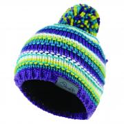Cognizant Beanie Purple Neon Blue