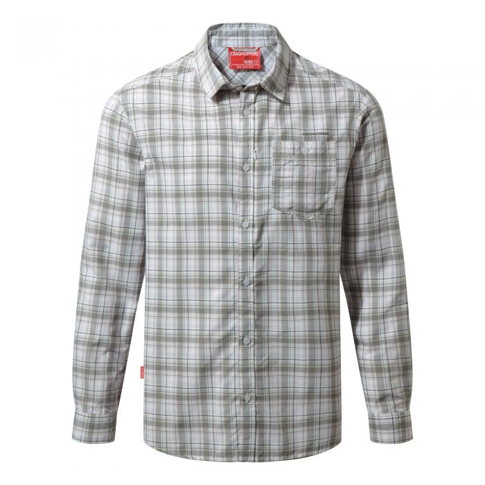 NosiLife Prospect Long Sleeved Shirt Quarry Grey Combo