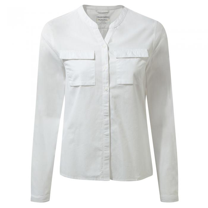 Ravello Long Sleeved Shirt Optic White