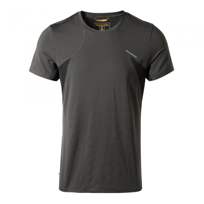 Fusion Short Sleeved T-Shirt Black Pepper Combo