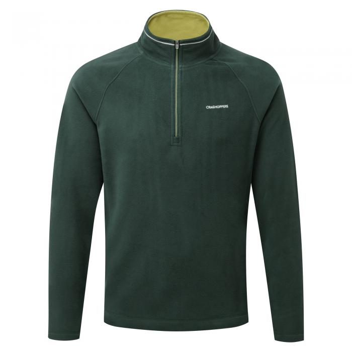 Selby Half Zip Asteroid Green