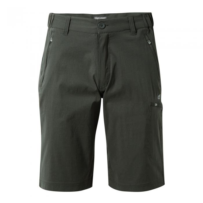 Craghoppers Kiwi Pro Long Shorts - Dark Lead