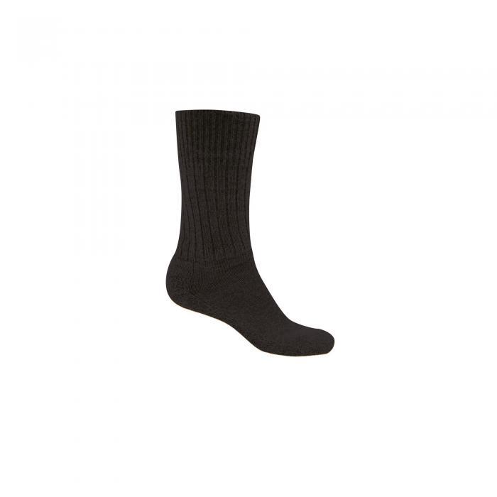 Mens Wool Hiker Sock Black Pepper Marl