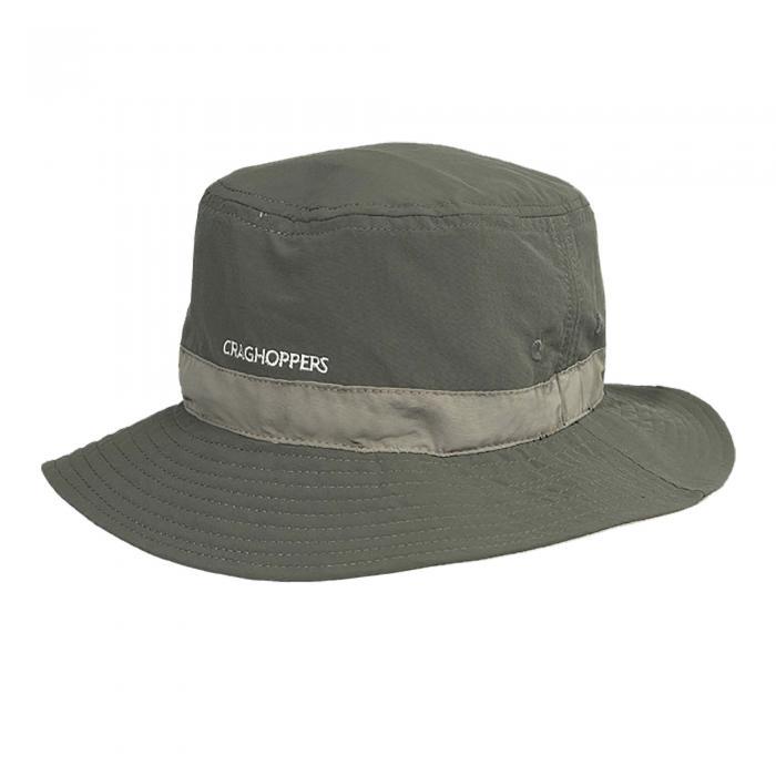 Craghoppers NosiLife Sun Hat - Dark Khaki Pebble