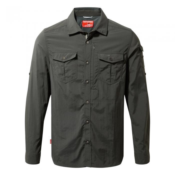 NosiLife Adventure Long Sleeved Shirt Black Pepper