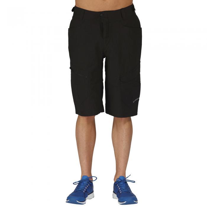 Adhere Convertible Shorts Black