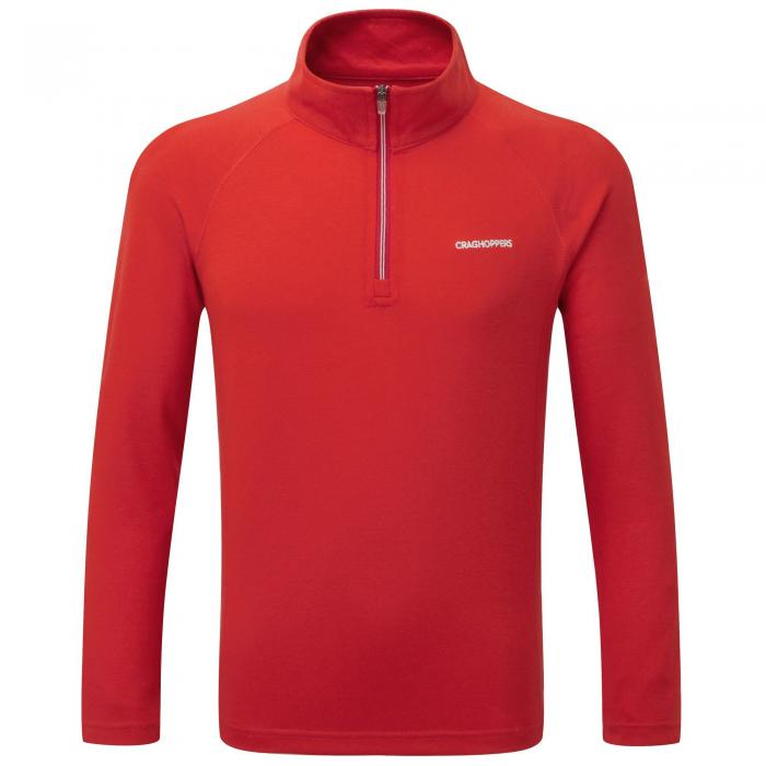 NosiLife Ace Long Sleeved Zip Neck Dynamite Red