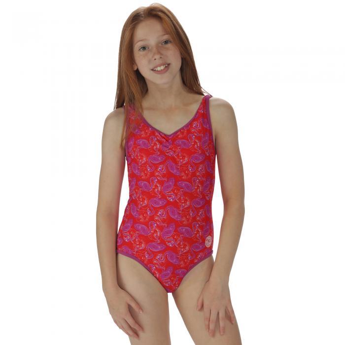 Girls Diver Swimming Costume Lollipop