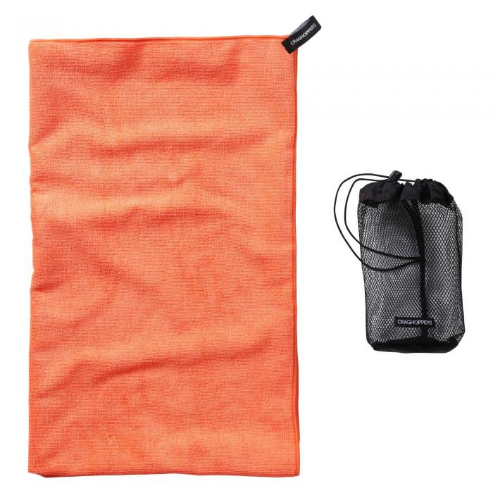 Craghoppers Super Large Microfibre Travel Towel - Orange