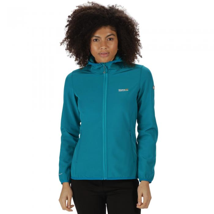 Women's Arec Softshell Jacket Deep Lake