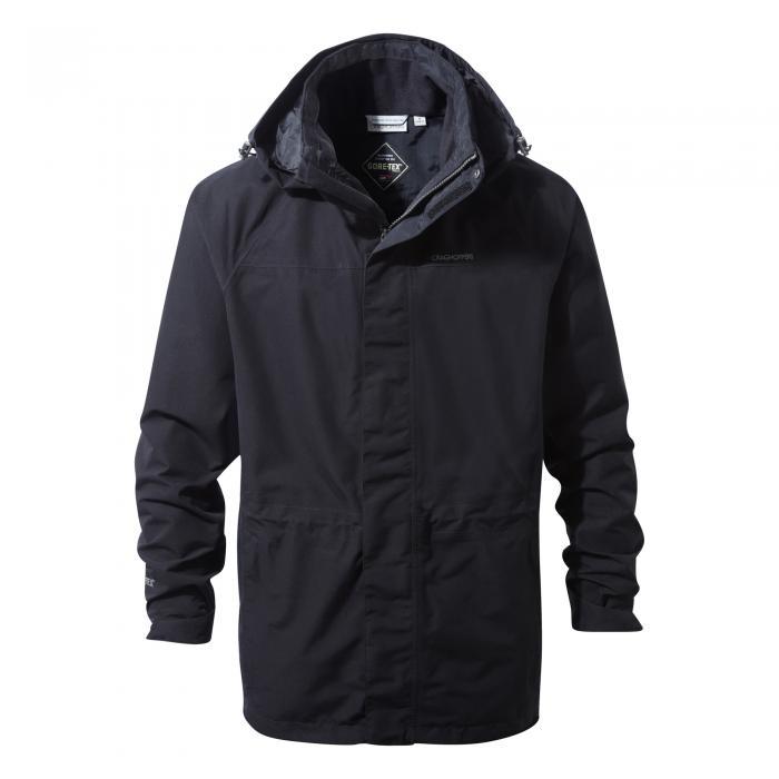 Ashton Long Gore-Tex Interactive Jacket Black