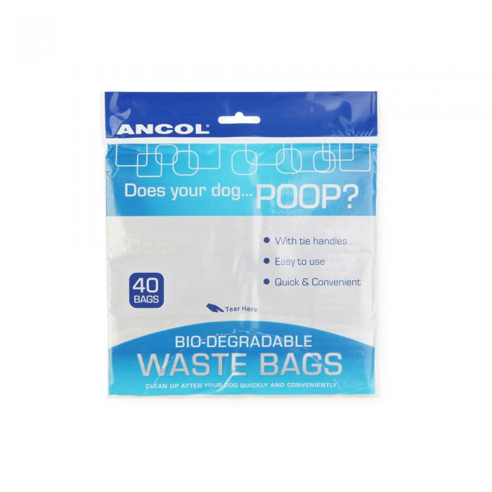 Ancol Bio Degradable Bags 12pk Misc