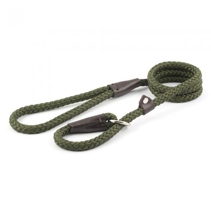 Rope Slip Lead - Green