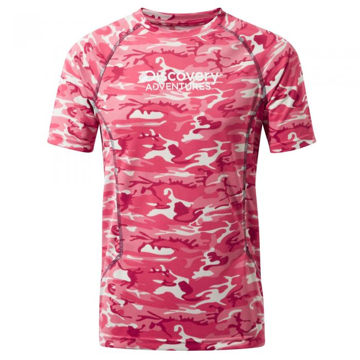 Short Sleeved T-Shirt Electric Pink