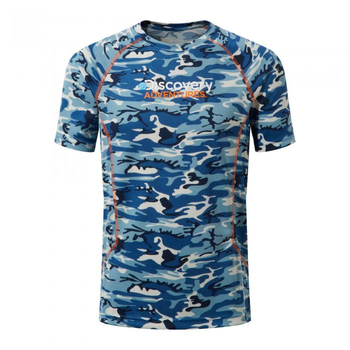 Disvovery Adventures Short Sleeved T-Shirt Deep Blue Combo