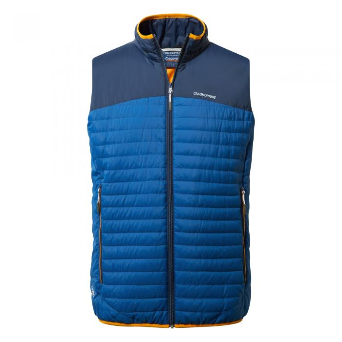 Mens Climaplus Vest Deep Blue