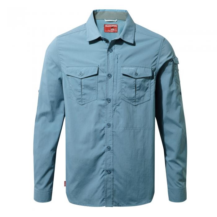 NosiLife Adventure Long Sleeved Shirt Smoke Blue