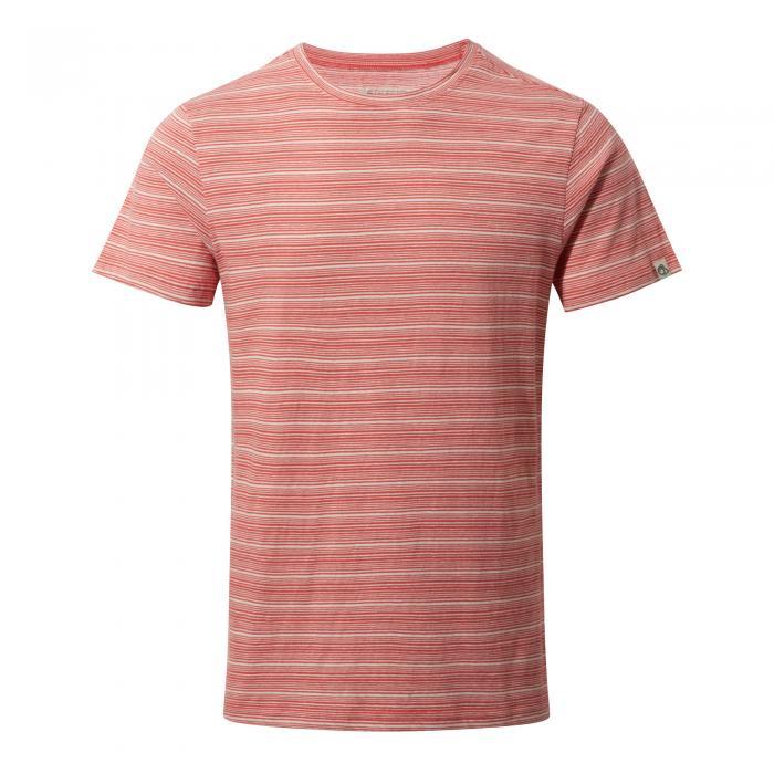 Bernard Short Sleeved T-Shirt Roccoco Red Combo