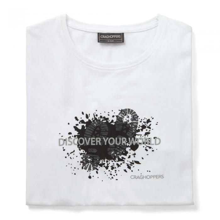Eastlake Short Sleeved T-Shirt Boot Optic White